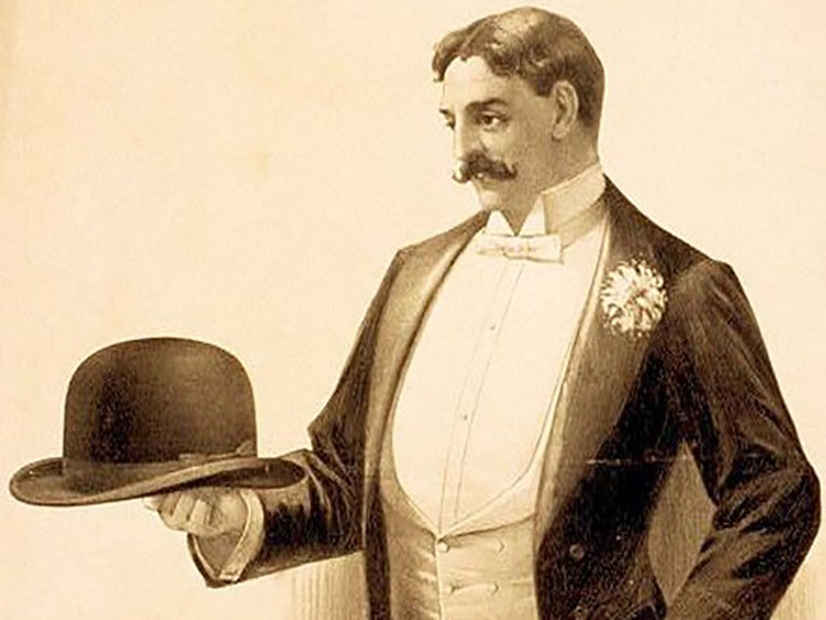 fe249bc5d7a74a The name of the Coke Hat (pronunciation is cook) comes from its creator, Edward  Coke. But, this specific hat is also known as the Bowler Hat that was ...